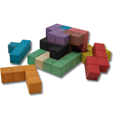 3D-Pentominos aus RE-Wood