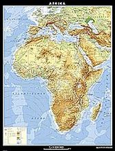 Afrika, physisch, Kunststoff