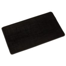Arbeitsteppich, schwarz