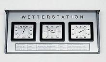 Außen-Wetterstation