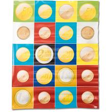 BeeBot Matte mit Euro-Münzen *Aktion*