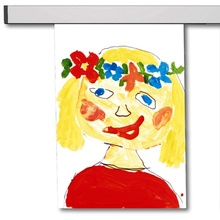 Bildaufhängung und Galerieschienen