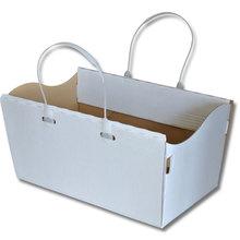 Blanko-Box mit Henkel