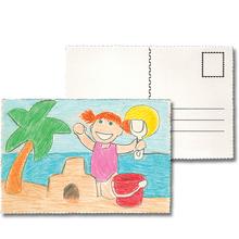 Blanko-Postkarten