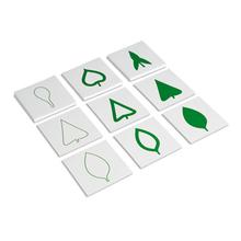 Botanischer Kartensatz