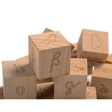 Buchstaben-Würfel Holzbox *Aktion*