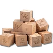 Buchstaben-Würfel Holzbox