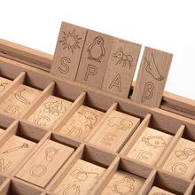 Buchstabenspiel Holzkasten *Aktion*