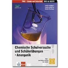 Chemische Schulversuche u. Schülerübungen - Anorganik, DVD