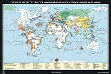 Die Welt im Zeitalter der geographischen Entdeckungen 1492-1648