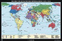 Die Welt im Zeitalter des Imperialismus 1870-1914