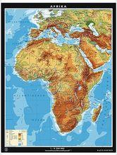 Duo-Wandkarte Afrika, physisch/politisch