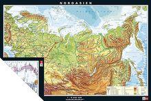 Duo-Wandkarte Nordasien, physisch/politisch