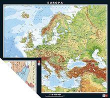 Europa, physisch/politisch