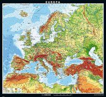 Europa, physisch