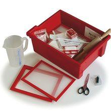 Experimentierbox Papier aus Altpapier