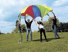 Fallschirmschwungtuch Ø 4 m