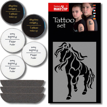 Fantasy Tattoo Schmink Set