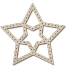 Flechtmotiv Stern