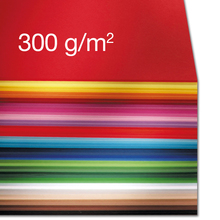 Fotokarton 300 g/m² <br> Mix-Sortiment