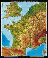 Frankreich und Benelux-Staaten, physisch