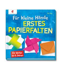 Für kleine Hände - erstes Papierfalten