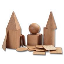 Geometrische Holzkörper *Aktion*