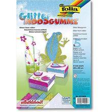 Glitter-Moosgummi