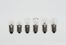 Glühlampen, E10/4 V/0,04 A
