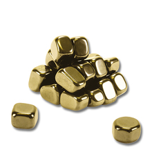 Gold-Nuggets magnetisch