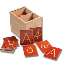 Groß- und Kleinbuchstaben Holzbox *Aktion*