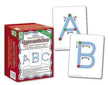 Großbuchstaben-Spürkarten