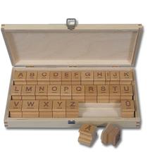 Großbuchstabenstempel outline