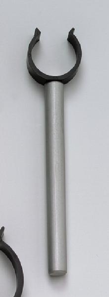 Halteclip 25 mm an Stab 100 mm