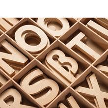 Holz-Alphabet