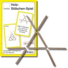 Holz-Stäbchen-Spiel