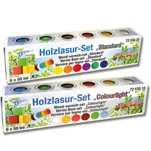 Holzlasur-Set Colourlight *Sale*