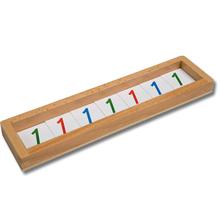 Kartensatz zur Hierarchie der Zahlen