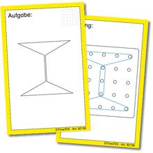 """Kartenspiel """"Geometrie-Brett"""""""