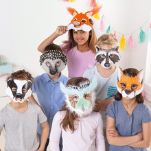 Kindermasken-Set Waldtiere