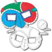 Kindermasken-Set Weltraum