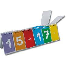 Klappen-Flipchart Uhrzeit