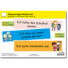 Klassenregel-Karten