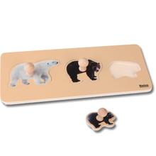 Kleinkind Puzzle: 3 Bären
