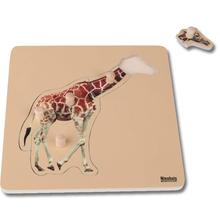 Kleinkind Puzzle: Giraffe