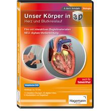 Körper 3D – Herz und Blutkreislauf tabletfähig