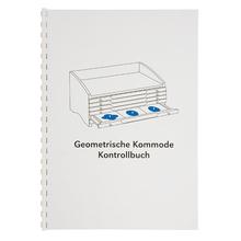Kontrollbuch für die geometrische Kommode
