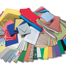 Kreativpapier und Bastelmappen