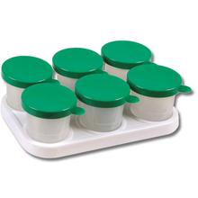 Kunststoffhalter mit Farbtöpfen