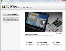 LabVIEW Education – Einzelplatzlizenz